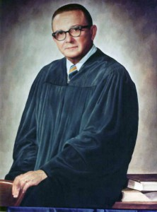 Chief Justice SC Supreme Court Julius B. Bubba Ness